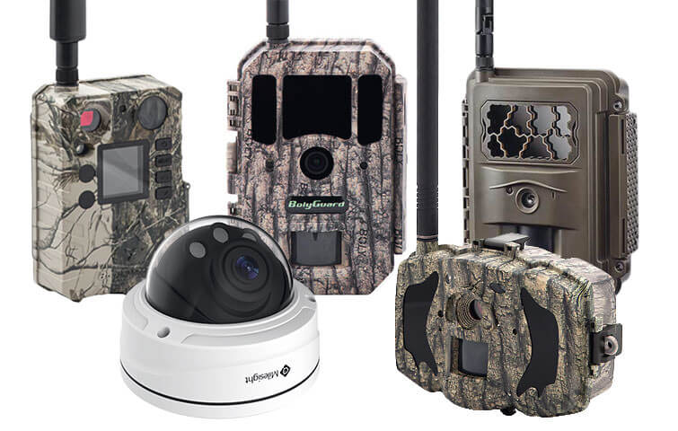 Seneram is compatible with all trail cameras and ip cameras